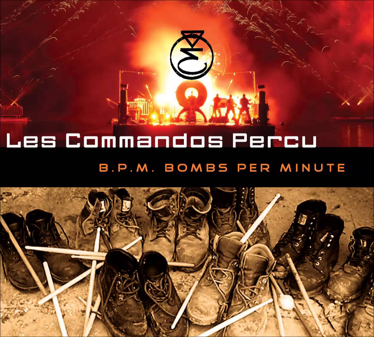 cover cd bpm commandos percu